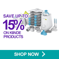 Save up to 15% on kiinde products