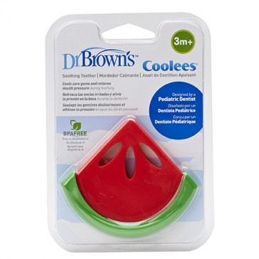 """DR Brown's Soothing Teether """"Coolees"""" (Watermelon)"""