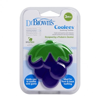 """DR Brown's Soothing Teether """"Coolees"""" (Grape)"""