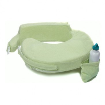 My Brest Friend Original Nursing Pillow - Green Deluxe