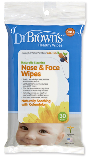 DR Brown's Nose & Face Wipes