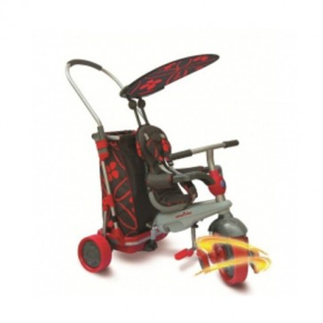 SMART TRIKE & GO - GREY/RED