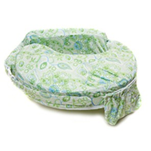 My Brest Friend Original Nursing Pillow - Green Paisley