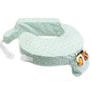My Brest Friend Original Nursing Pillow - Green Sunburst