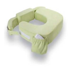 My Brest Friend Twin Plus Nursing Pillow - Green Deluxe