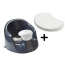 Prince Lionheart bebePOD flex with tray Baby Seat (Charcoal Grey)